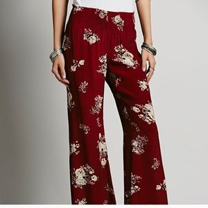 Free people Crete material pants from India